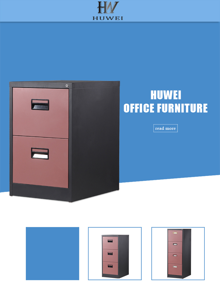 2 Drawers Storage Cabinet