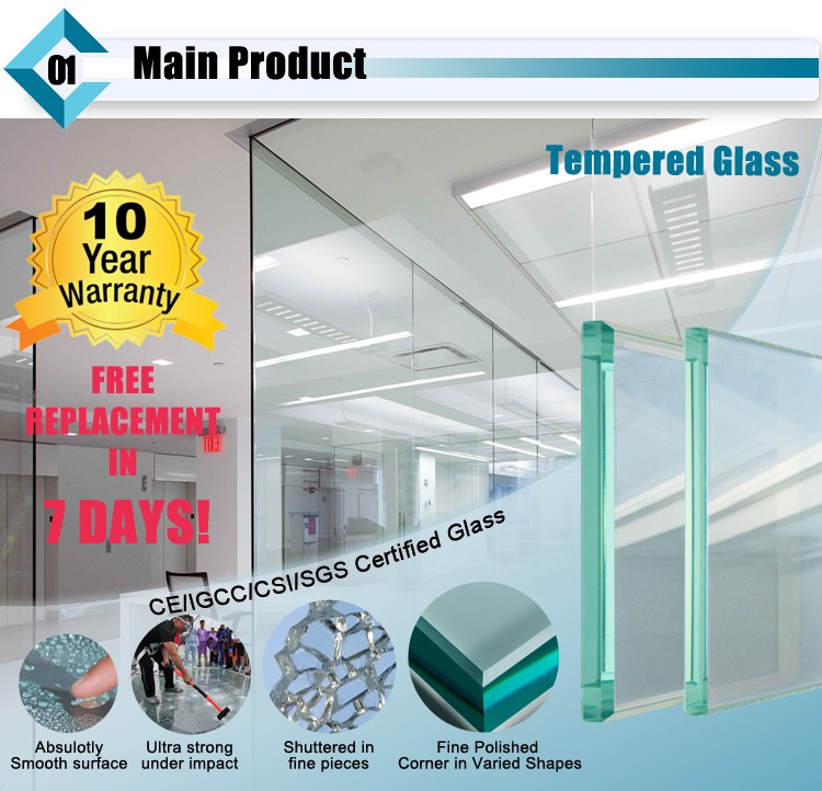 Clear Toughened Glass