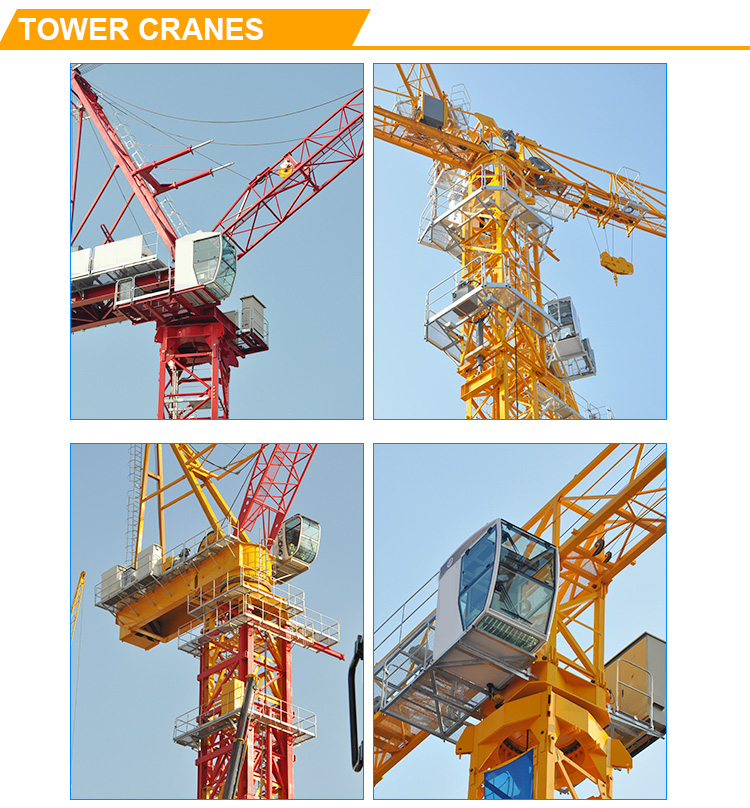 QTP80 topless tower crane