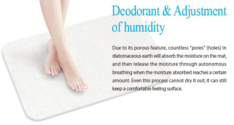 Diatomaceous Bath Mat Healthy