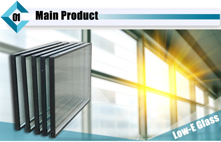 Tempered Low-E Insulated Glass