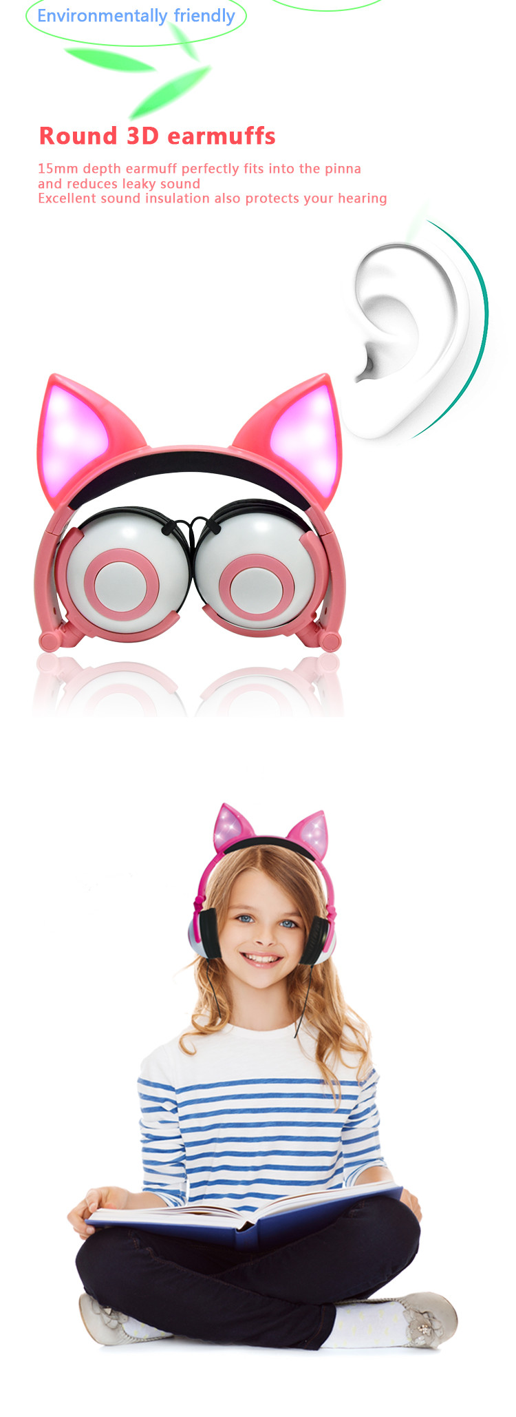animal ear headphones
