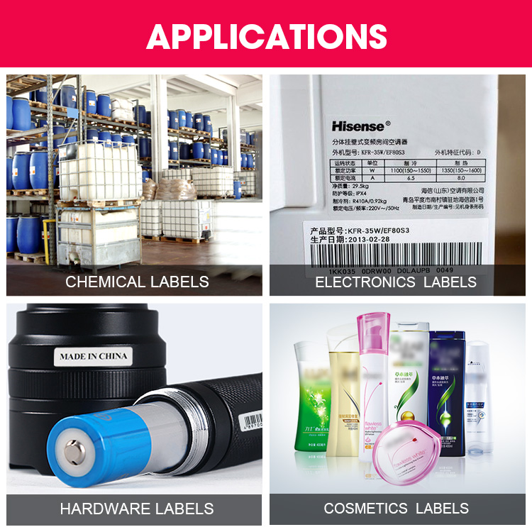 PP Synthetic Label Rolls