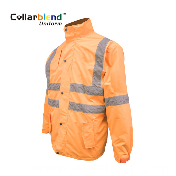 Orange Safety Coat