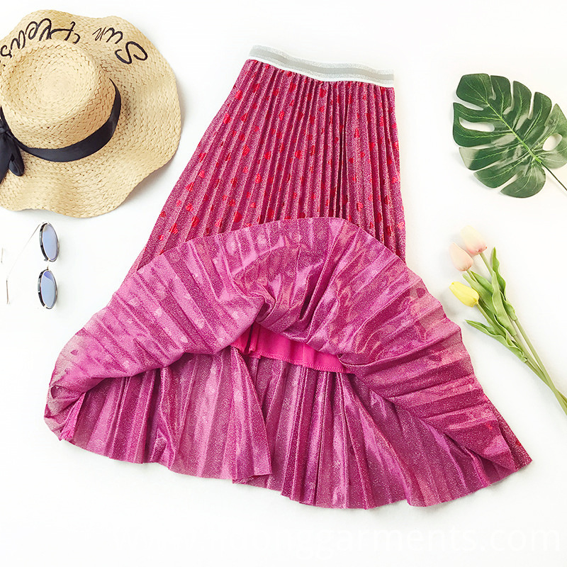 Casual Ladies Bubble Skirt