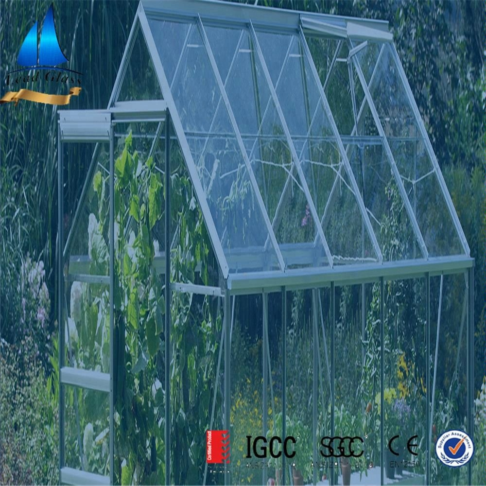 clear tempered greenhouse glass