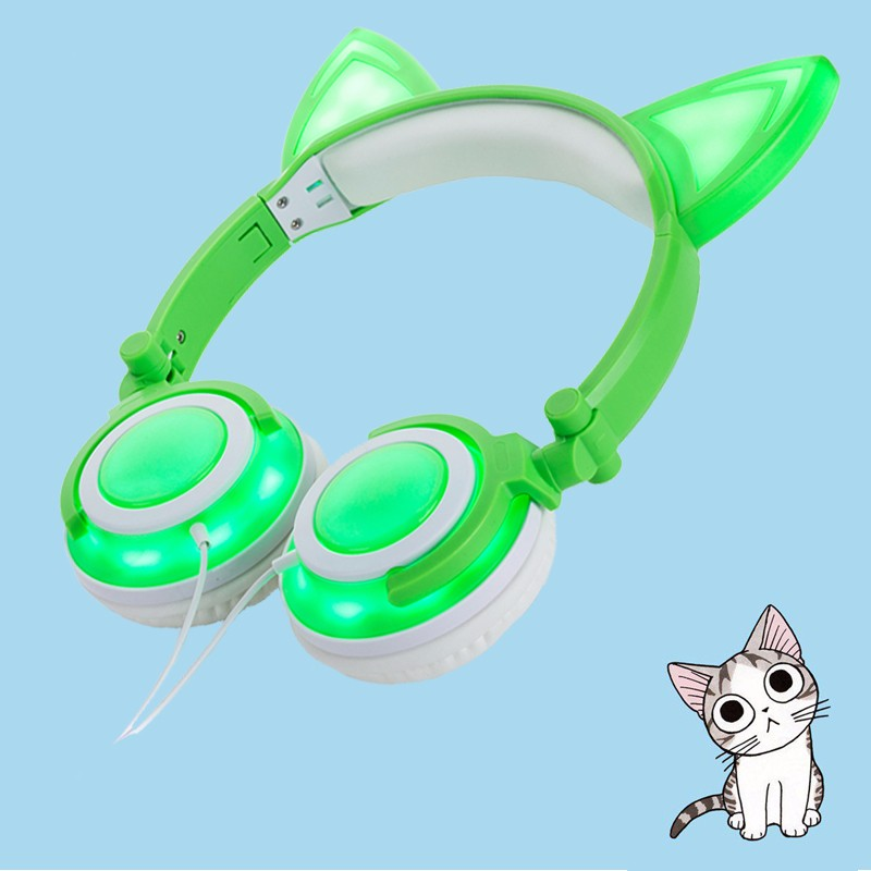 stereo wired kids headphone