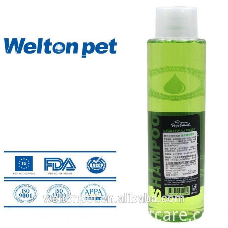 Super white dog shampoo dog spa products