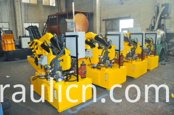 Q43-315 Hydraulic Steel Rebar Cutting Shear Machine (factory)