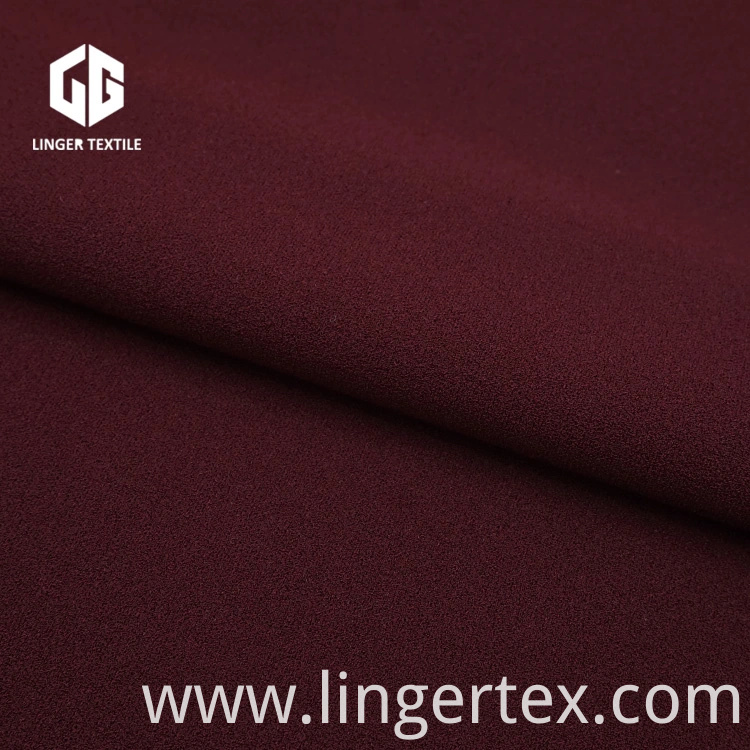 Twisted Polyester Crepe