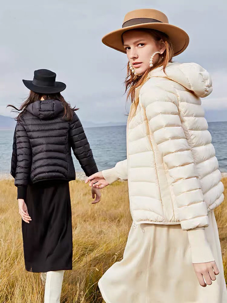 Women winter waterproof coat