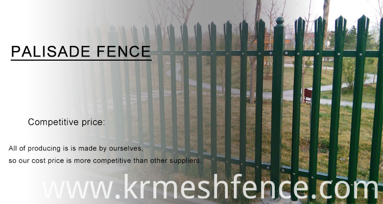 Very cheap and best quality palisade fence