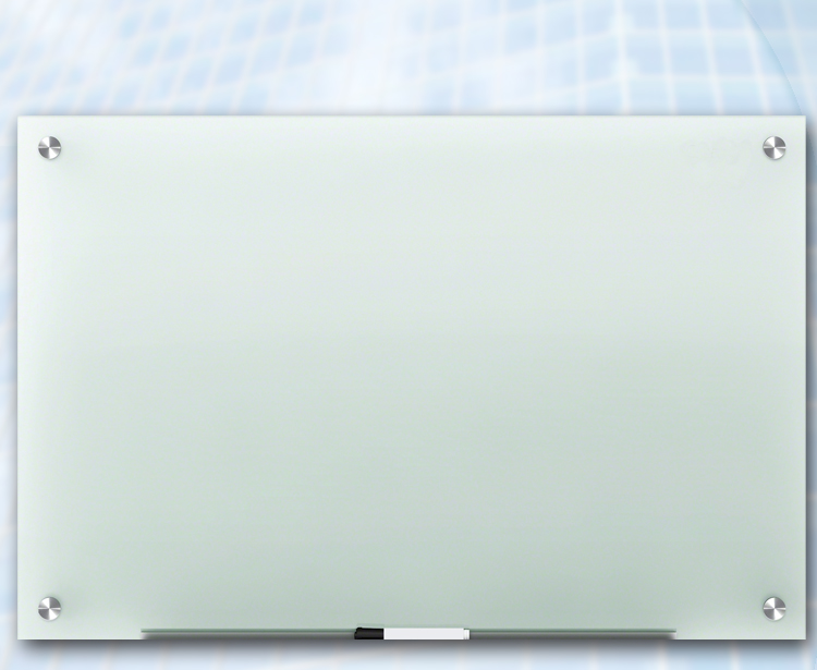 frosted backboard glass panel