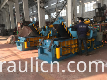 Y81q-135 Hydraulic Forward-out Aluminum Cans Baling Machine