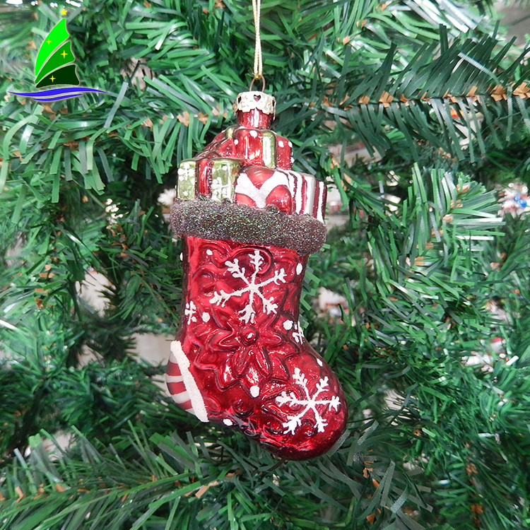 Christmas Socks Shaped Ornaments