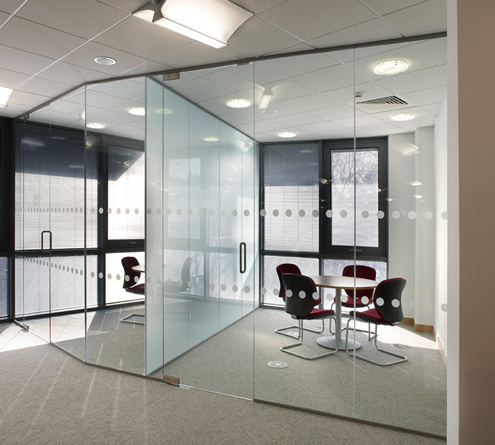 office enclosure glass
