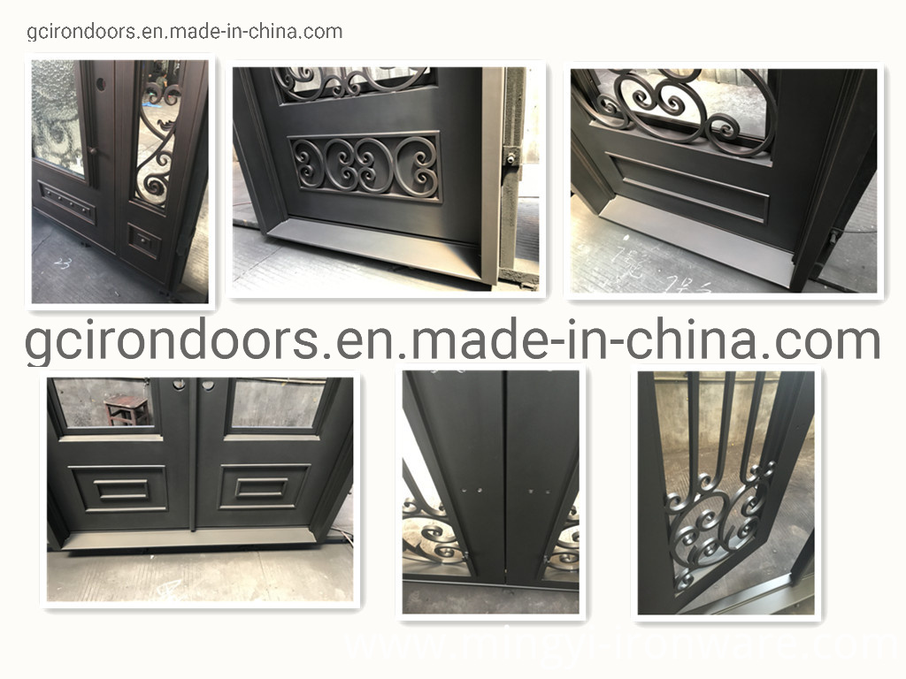 Beautiful Scrollwork Iron Gate