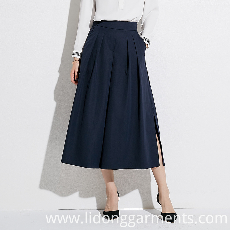 New Design A- line Long Skirt