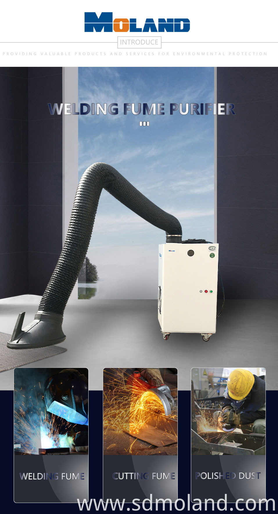 Manual Cleaning Fume Extractor