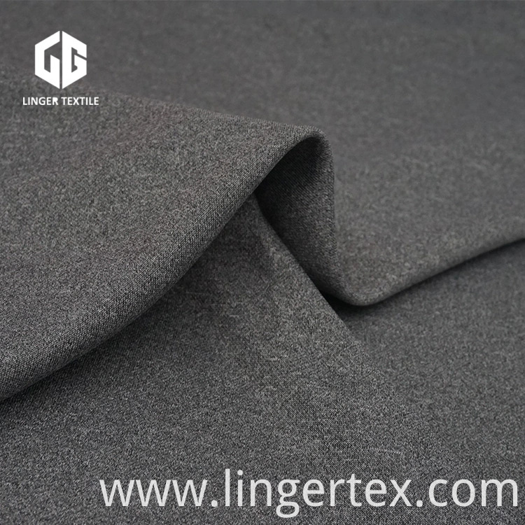 Cationic and Polyester Blended Yarn Interlock Knitted Fabric