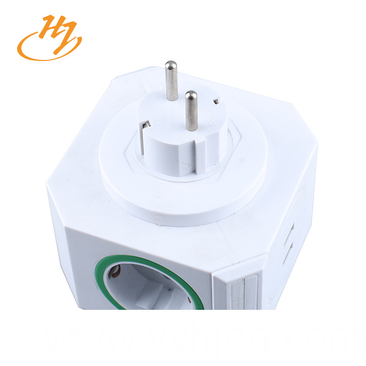 EU Type 2-USB Smart Plug