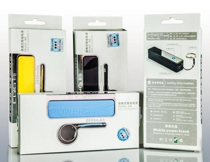 Keychain Power Bank