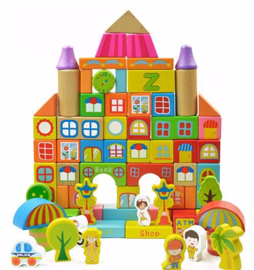 Colorful 190 Pcs Building Blocks