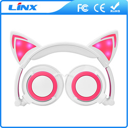 Cheap cat ear headphone in stocks