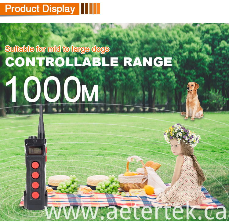 Anti-bark Collar 1KM Range Trainer
