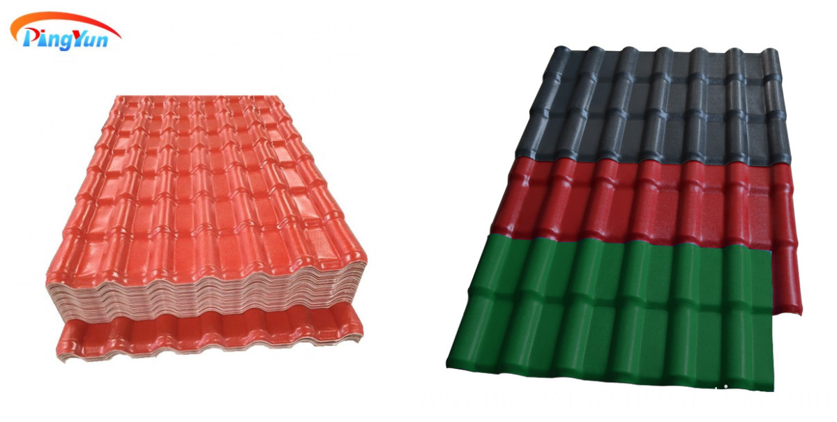 synthetic resin roof tile