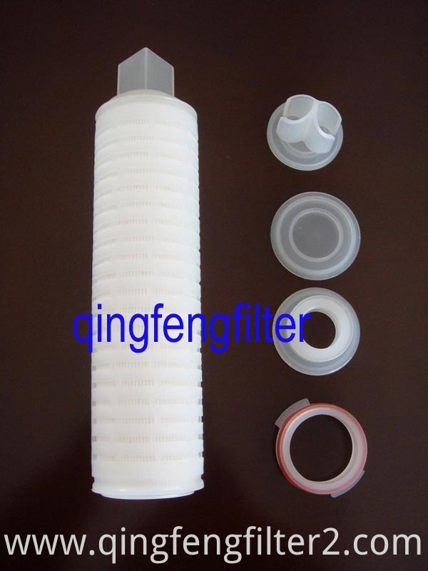Ozone Resistance All Fluoropolymer Hydrophobic PVDF Filter Cartridge