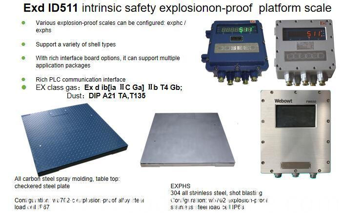 Explosionon-Proof Platform Scale