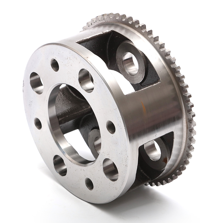 OEM customized custom Drive this wheel engineering machinery parts Drive this wheel with lost wax investment casting