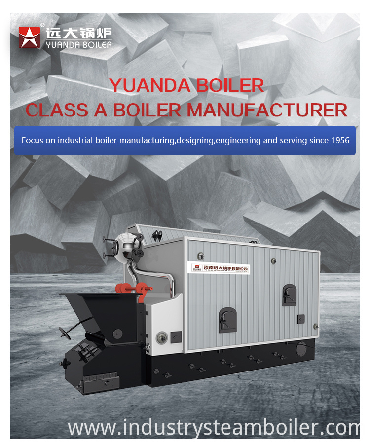 Water Tube SZL Biomass Fired Steam Boiler