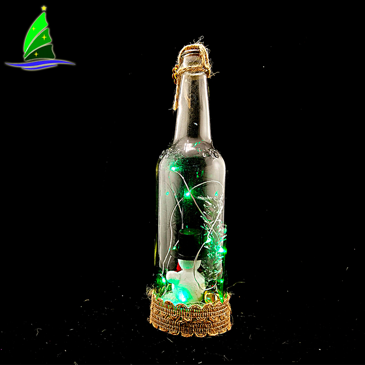 Holiday Decoration Bottle Light