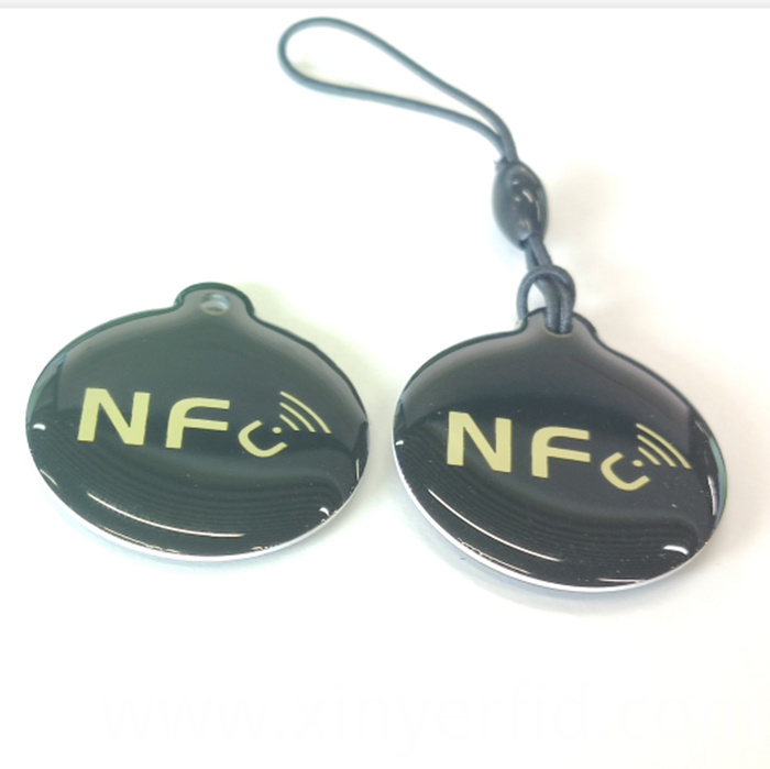 RFID Epoxy Tag Key Fobs