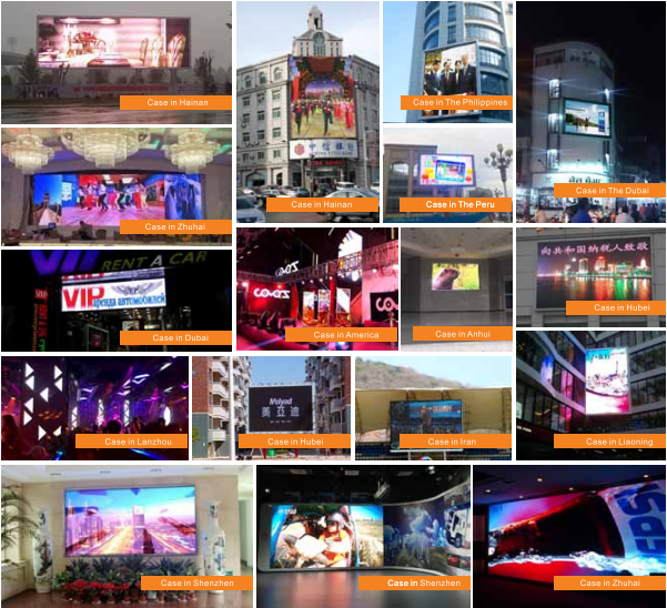 Full Color Circular Led Screen