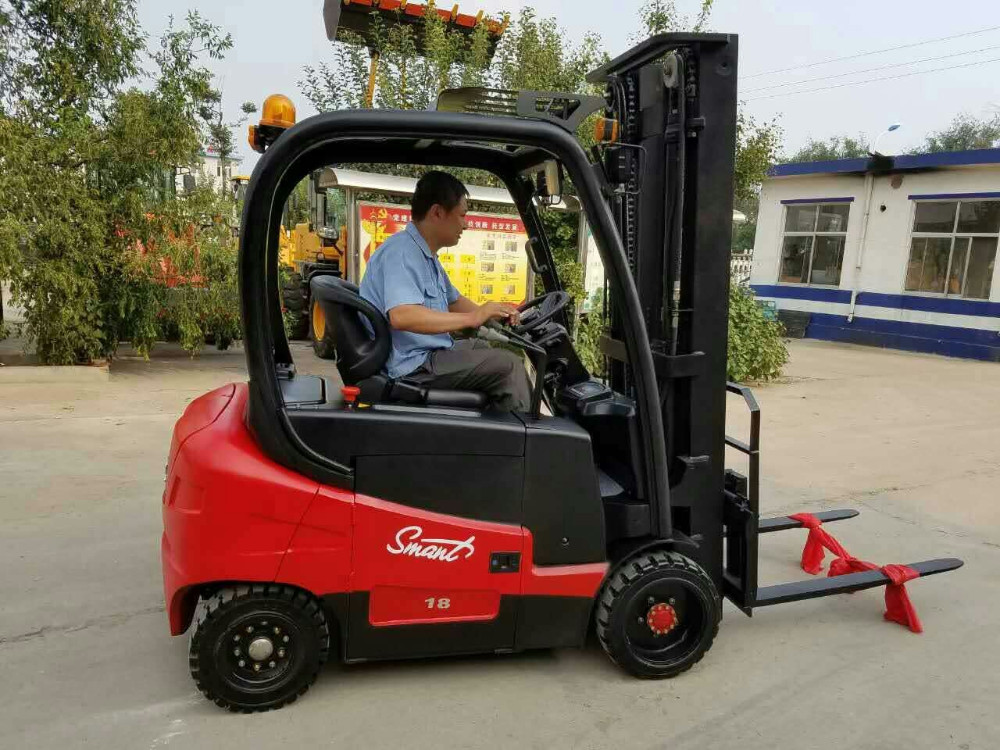 CPD18 electric reach forklift truck