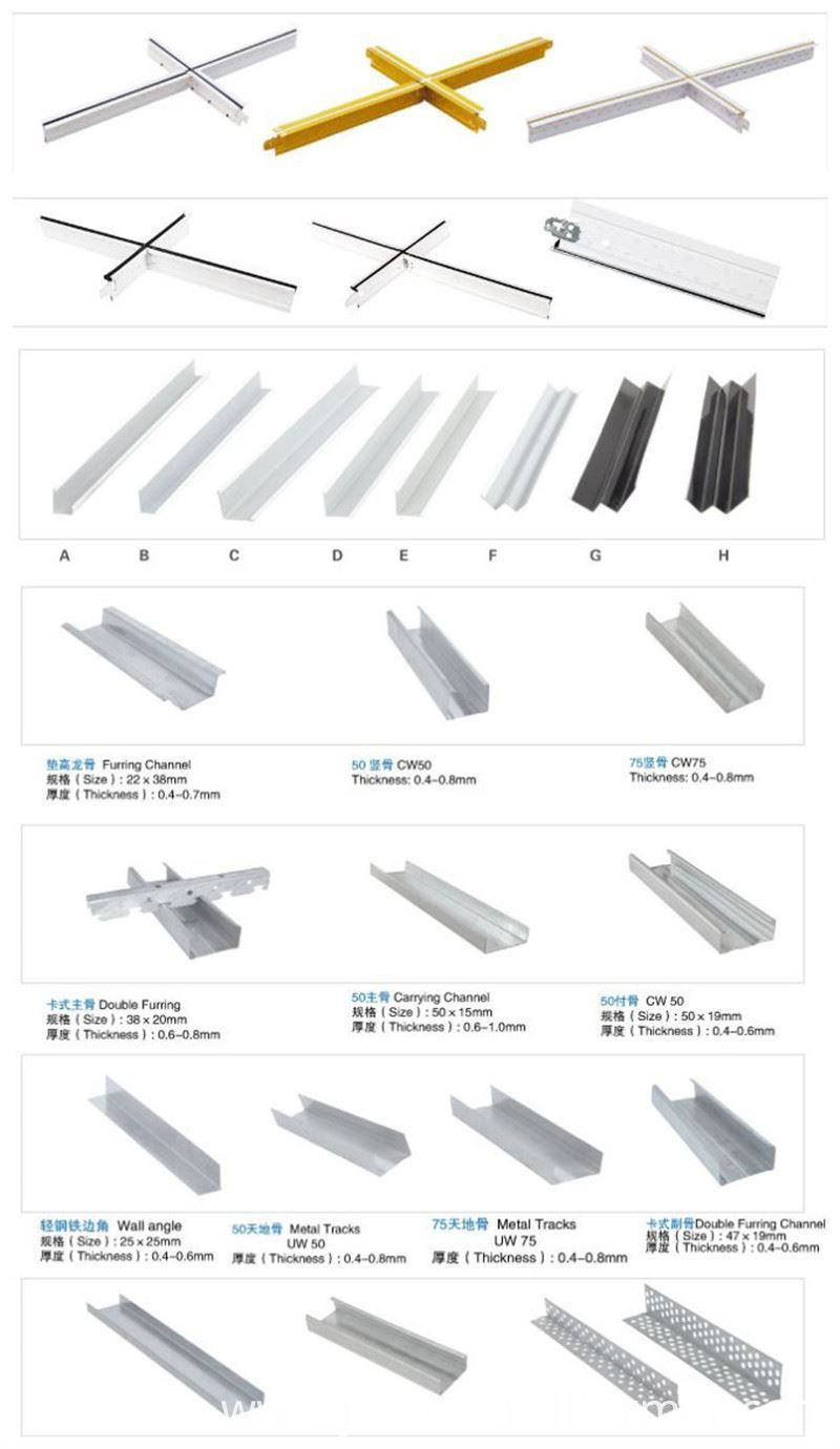 Light Gauge Steel Frame Drywall Track Metal Stud Machinery