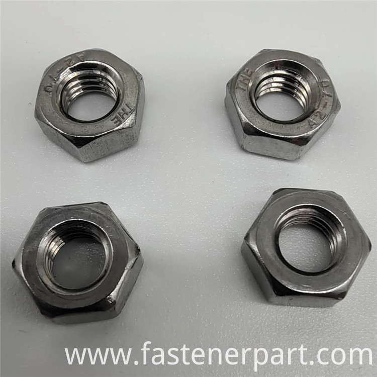 304 washer stainless stee flange nut
