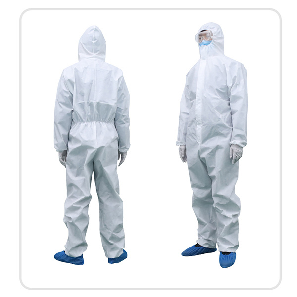 China Factory Direct Sterilized Coverall Disposable Protection Suit    for Protective