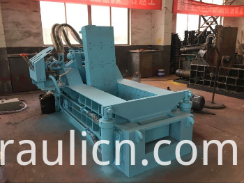 Y81q-135 Forward out Horizontal Metal Baler Scrap Aluminum Copper Steel Baler