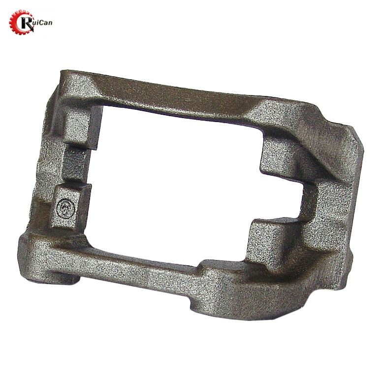 OEM customized metal computer fabrication corner connecting condenser cast iron cantilever button bullbar mounting bracket