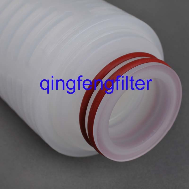 0.22 Micron Pes Pleated Water Filter Cartridge for Wine and Beer Industry