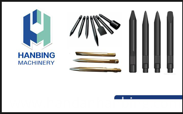 Spare Parts for Hydraulic Breaker Chisel Hb10g Hb20g Hb30g Manufacturer