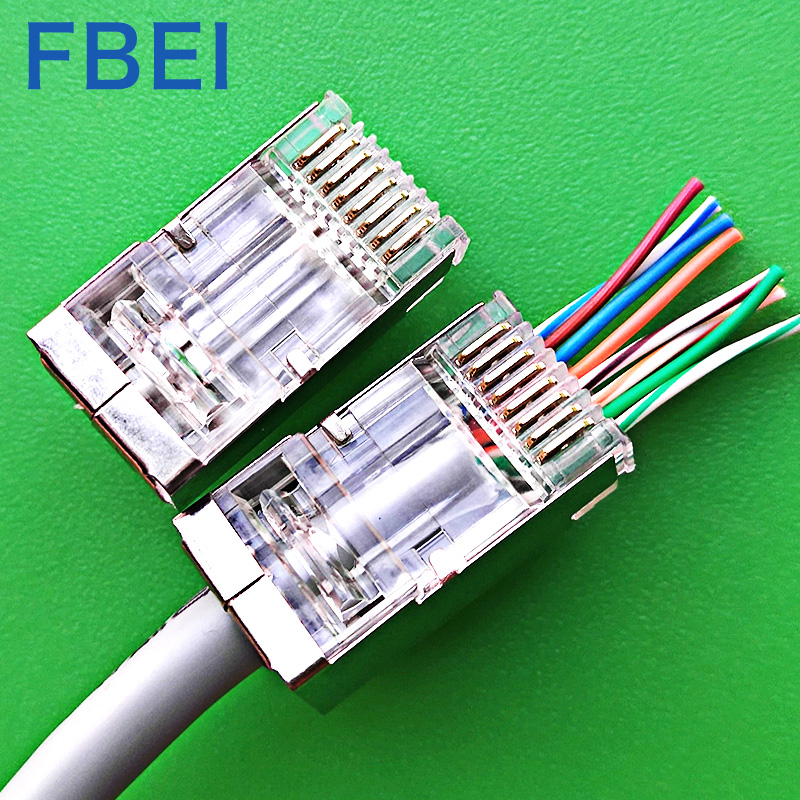 EZ Cat6A stp connector
