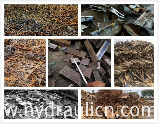 Q91y-500 Hydraulic Heavy-Duty Scrap Rebar Stainless Steel Shear