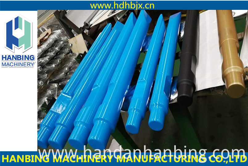 Hydraulic Breaker Chisels for Excavator Attachment
