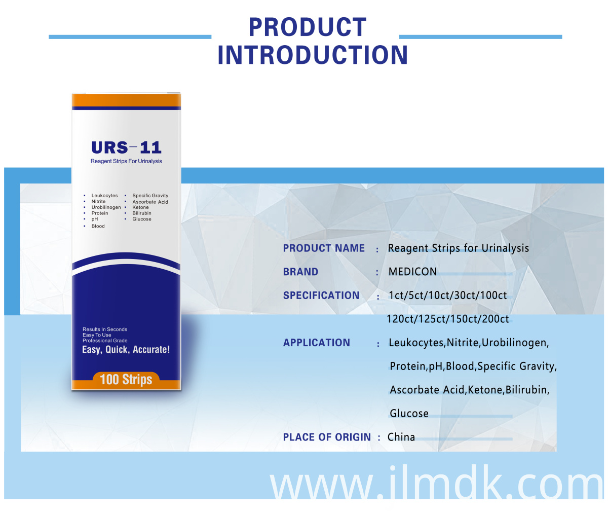 Routine Urinalysis Dipstick