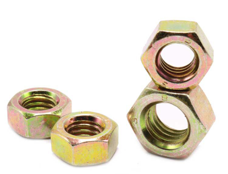 Non--standard Hexagon thin nuts